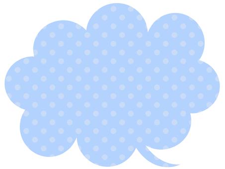 Sprinkle light blue