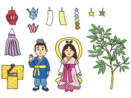 Tanabata material