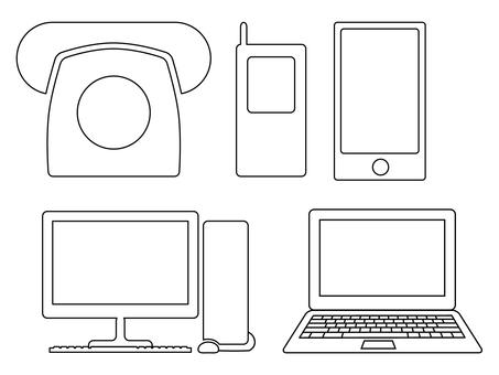Personal computer · smartphone · mobile 1