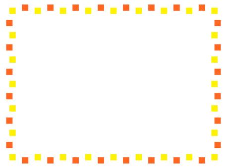 Rugged yellow frame