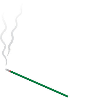 1 incense stick