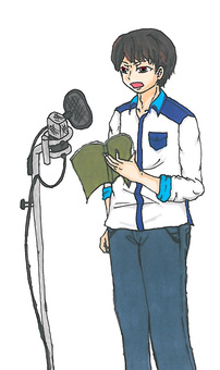 Dubbing voice actor