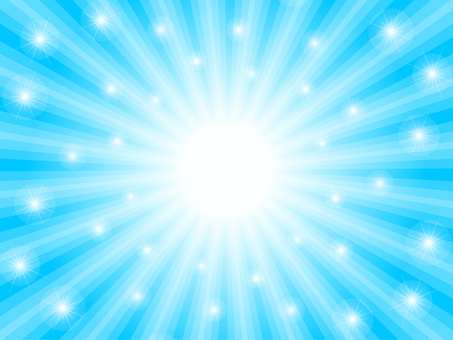 Light background (sky blue / sparkling)