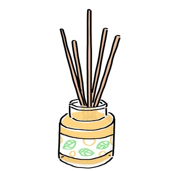 Room fragrance · Reed diffuser