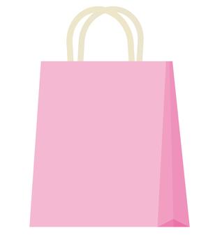 Paper bag (pink)