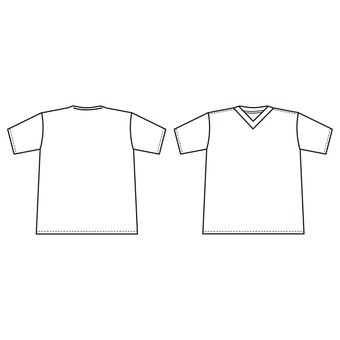Shirt (front and back)