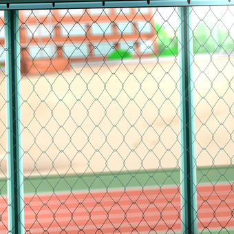 Schoolyard fence