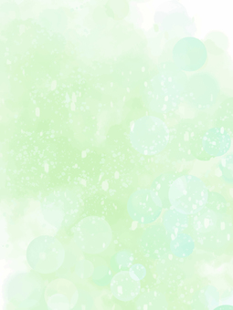 Glitter fantastic background painting (green)