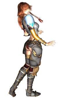 Battle armor school girls (whole body)