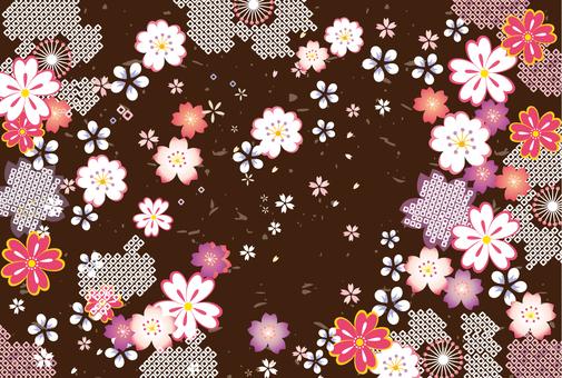Japanese Pattern Sakura 201702