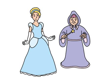 Cinderella (Cinderella and the Wizard)