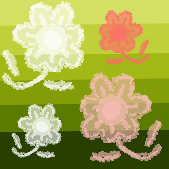 Tracing paper (flowers)
