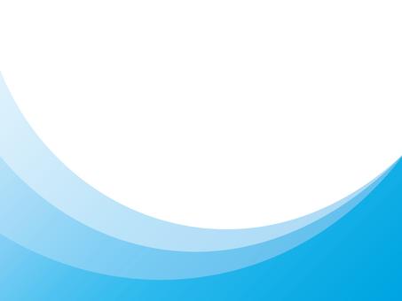 Background curve blue