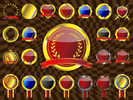 Medal / emblem set