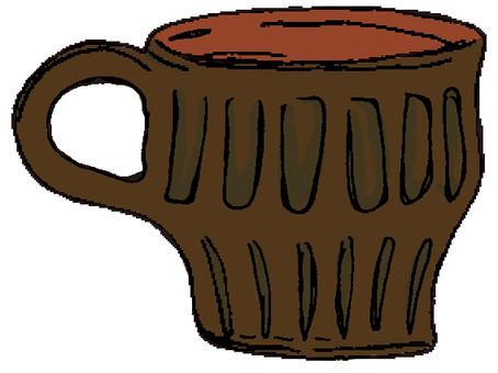도자기 컵 ①