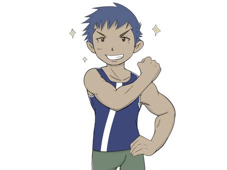 Muscle Training Boys 10