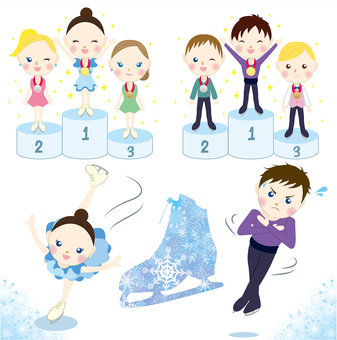 Figure skating set