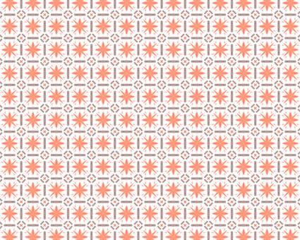 Orange Japanese Pattern 3
