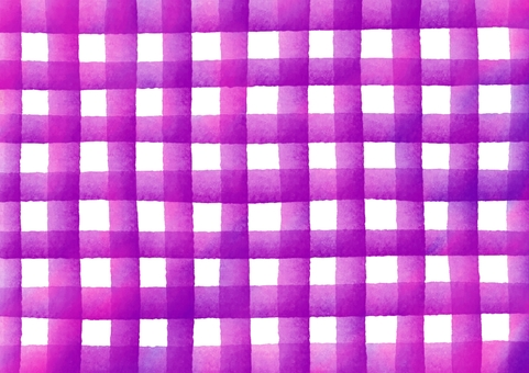 Check patterned watercolor texture · purple