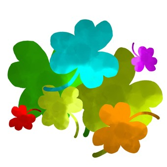 Colorful Clover 1