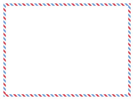 留言卡航空郵件樣式