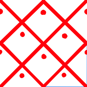 Simple square pattern