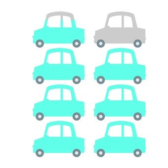 Car infograph