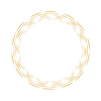 Circle material - 123