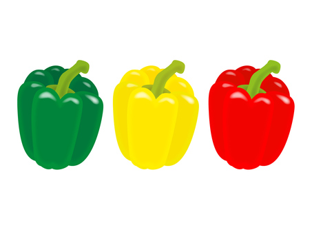 Green peppers paprika