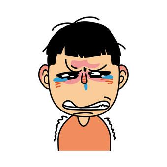 Boy _F look crying