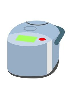 Rice cooker (gray)