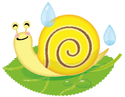Snail Colored Pencil Touch