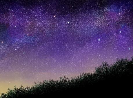 Starry background 06 (bevel)