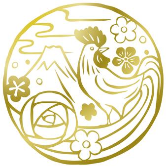 Unitary Shou prints / gold