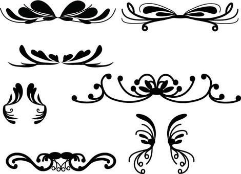 Elegant decorative frame