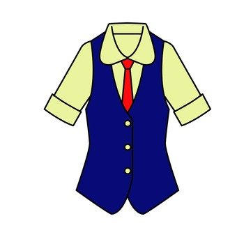 Uniform with tie