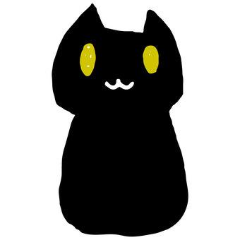 Loose cat (black)
