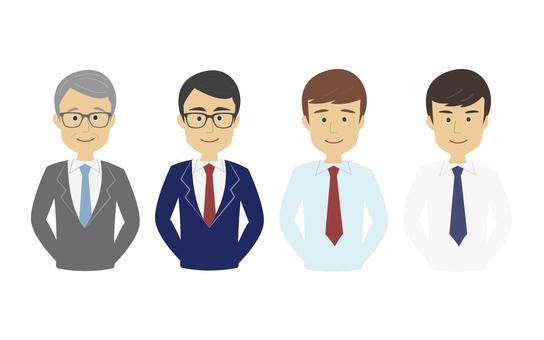 Businessman (front)