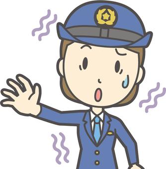 Policewoman-115-bust