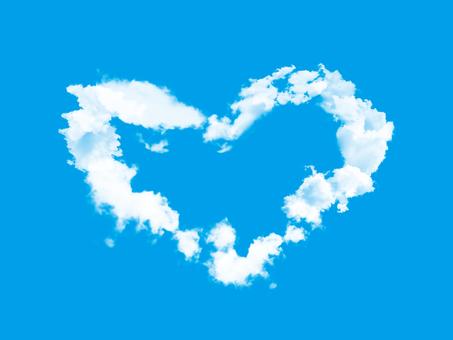 Illustrator's simple heart cloud