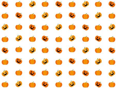 Pumpkin wallpaper (white)