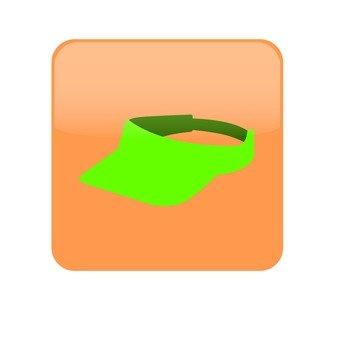 Sun visor _ green