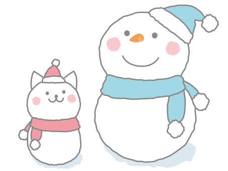 Season Winter (Snowman) 2