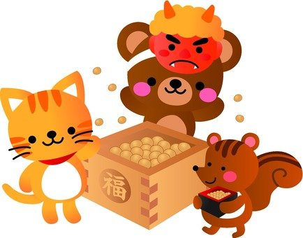 Setsubun and animals
