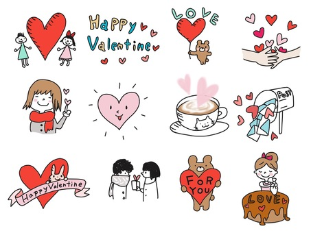Illustration that can be used for Valentine's Day etc Part 2