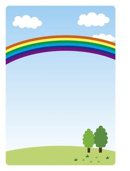 Nature and rainbow illustrator