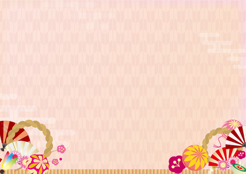 Background 127_ Japanese style illustration arrowheads background