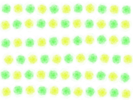 Hand-painted feng shui ball (green × yellow)