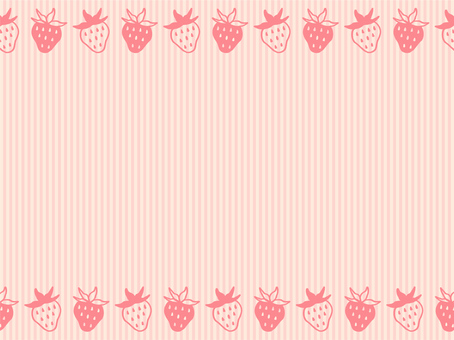 Strawberry background material