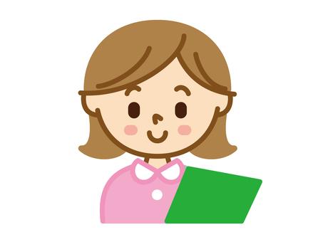 Female character teacher roster